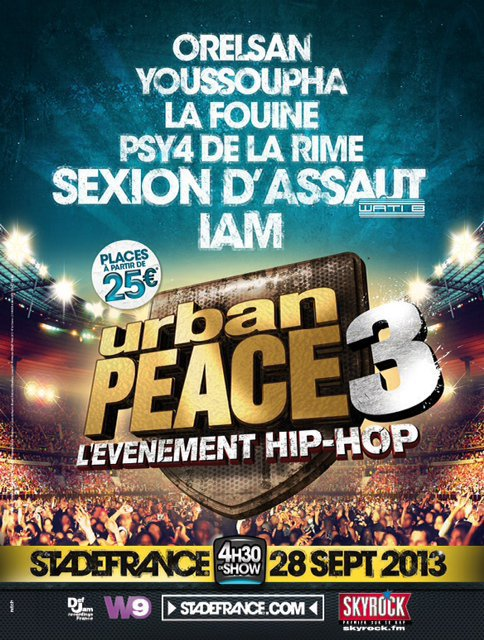 [MULTI] Urban Peace 3 (Live) (DVD) (2013)