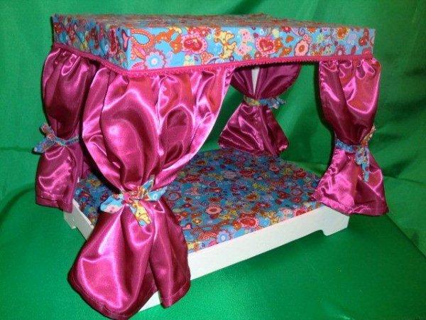 lit baldaquin pour chiens petite taille mes petits. Black Bedroom Furniture Sets. Home Design Ideas